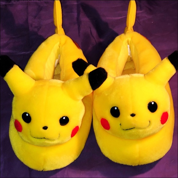 Pikachu Pokemon slippers